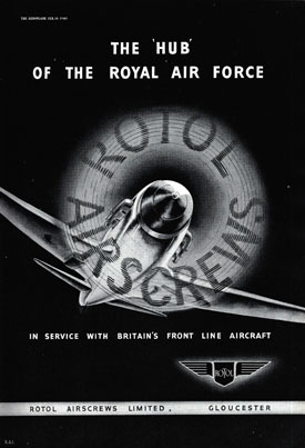 Rotol advertisement (Bristol Aero Collection).