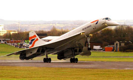 Concorde comes home (South Gloucestershire Council).