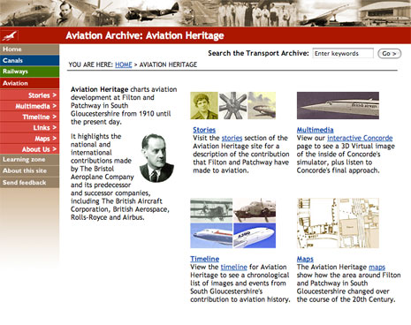Aviation Archive website.