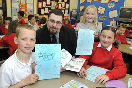 Year 5 pupils had a BAC 100 creative writing workshop in May.