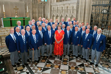 The Bristol Male Voice Choir includes current and retired aerospace employees among its members (Airbus).
