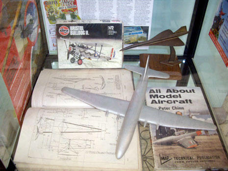 Bristol Central Library Flight Exhibition