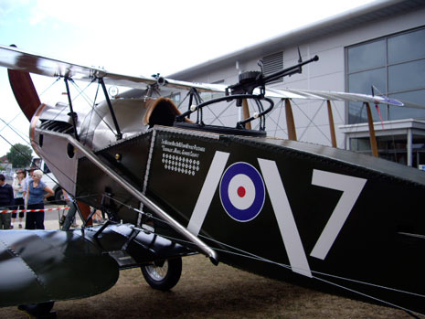 Fighter revealed at Rolls-Royce Families Day