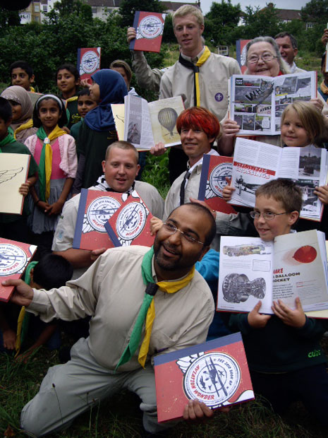 A special launch event was held at 1st Bristol Muslim Scouts HQ in Horfield on 7 July when 1000 copies of The 2010 Book of Aviation Wonder were distributed to the groups of the Brunel District.