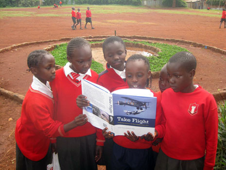 Pupils at Desai Memorial Primary School in Nairobi.