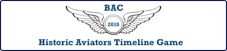 Historic Aviators Timeline Game