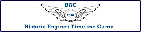 Historic Engines Timeline Game